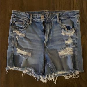 American Eagle Outfitters Hi-Rise Shortie, 10